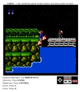 Contra in its 8-bit Nintendo glory goes Firefox