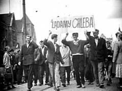 'Vaadimme leip��!' Poznanin kansannousu vuonna 1956.